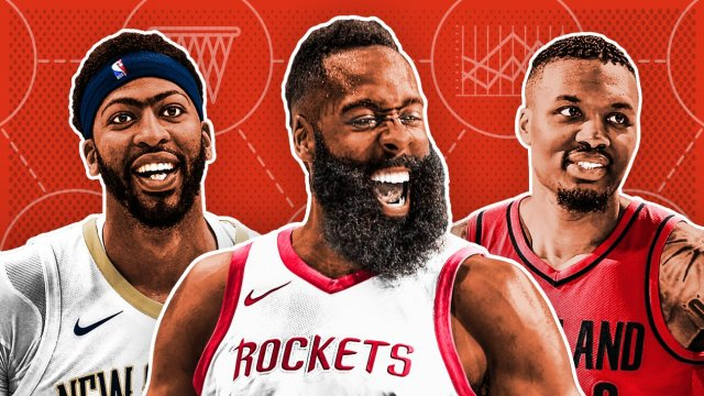 Харден, Леброн и ко. Топ-10 лучших игроков регулярного сезона НБА