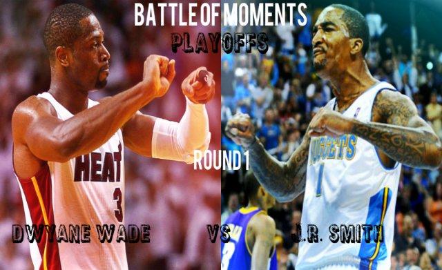 Battle of moments: Playoffs. Round 1.