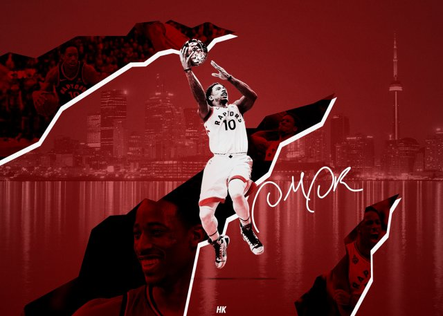 DeMar DeRozan Raptors 2018 Wallpaper 1200x857