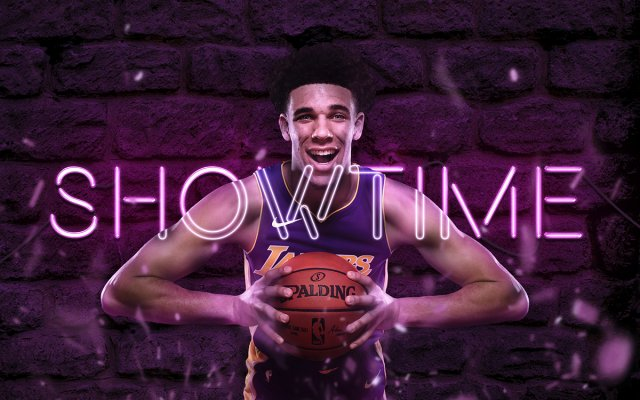 Lonzo Ball Showtime 2018 Wallpaper 1200x750