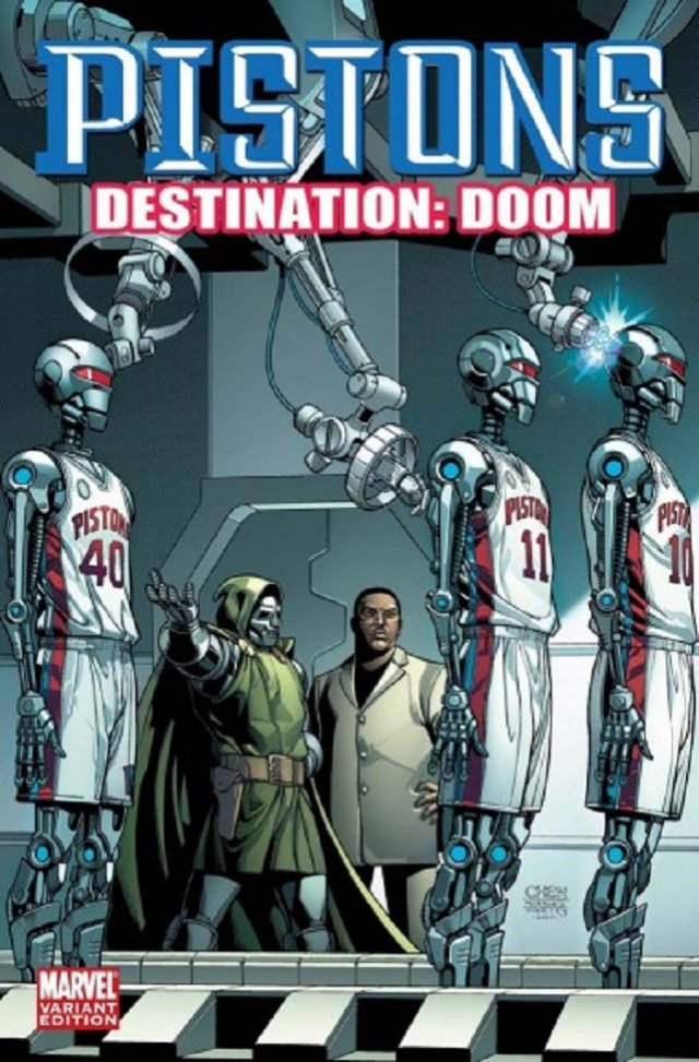 The Detroit Pistons – Dr. Doom – Doombots