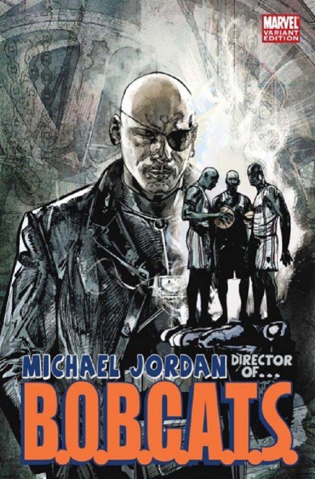 The Charlotte Bobcats/Michael Jordan – S.H.I.E.L.D