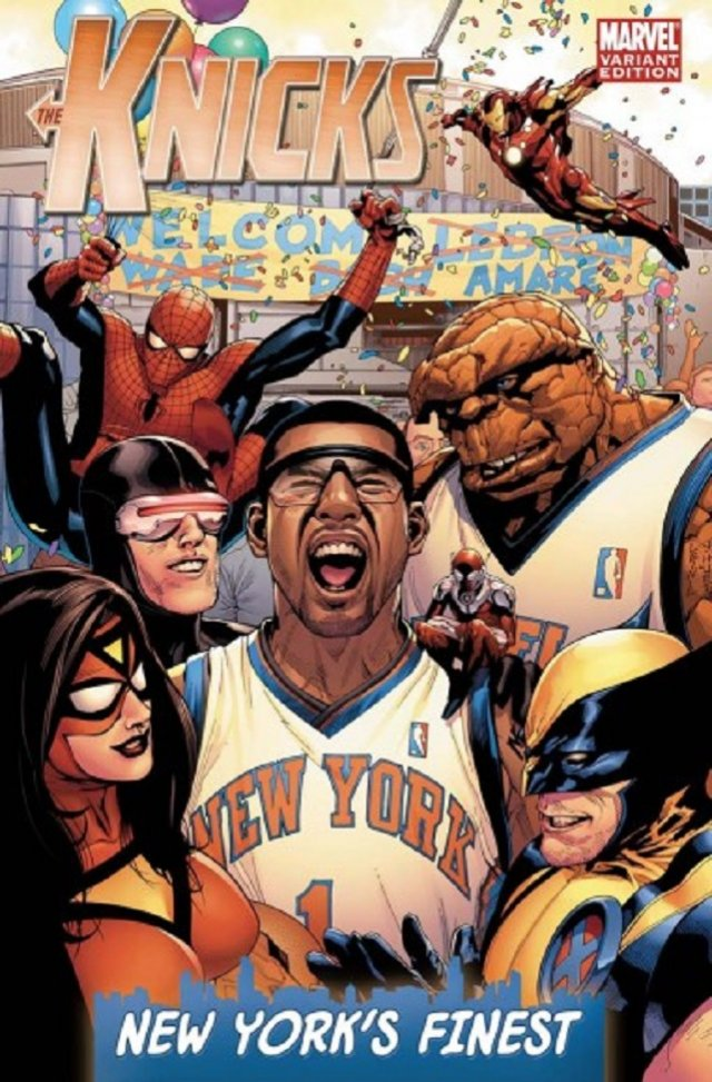 The New York Knicks – a Marvel Hodgepodge