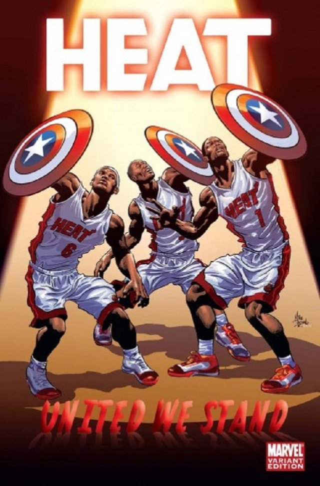 The Miami Heat – Captain America and The Big Three