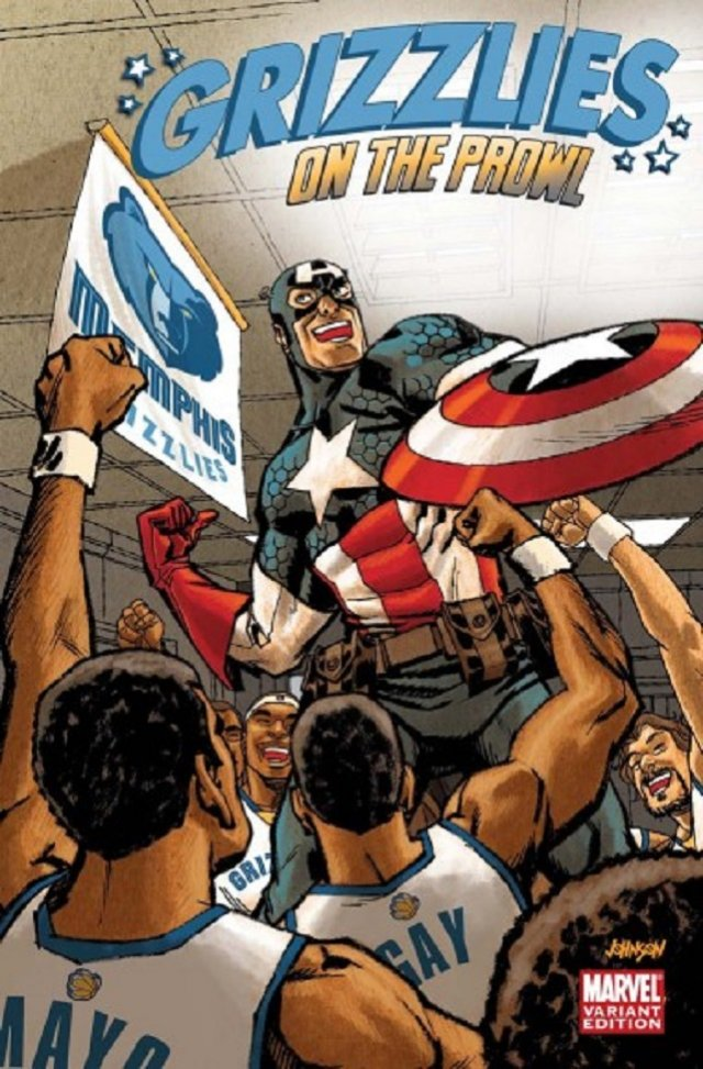 The Memphis Grizzlies – Captain America