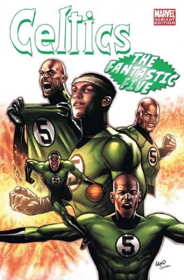 The Boston Celtics – The Fantastic Four