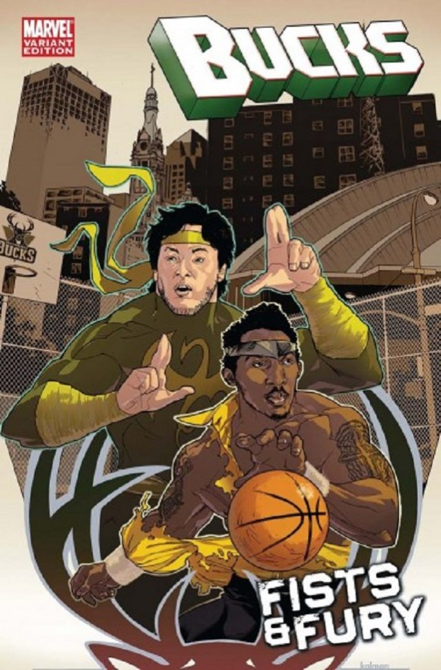 The Milwaukee Bucks – Power Man and Iron Fist