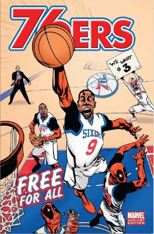 The Philadelphia 76ers – Deadpool