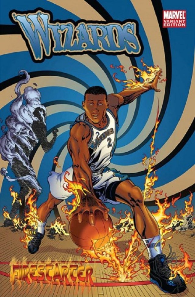 The Washington Wizards – The Human Torch