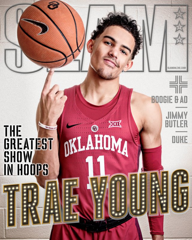 Trae Young SLAM 214 January 2018