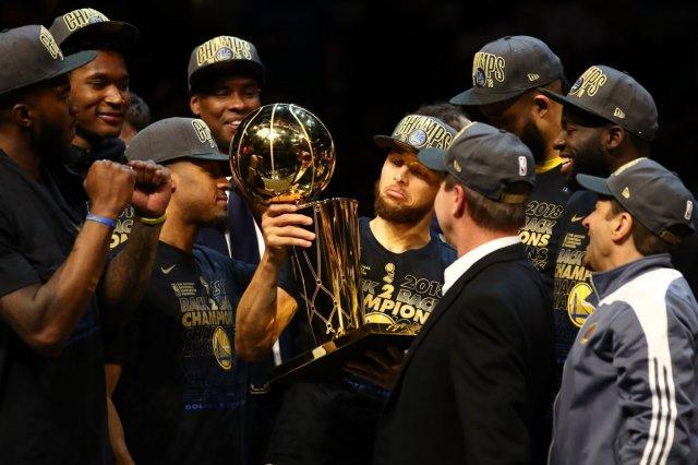 Голден Стэйт Уорриорз стали чемпионами НБА 2018
