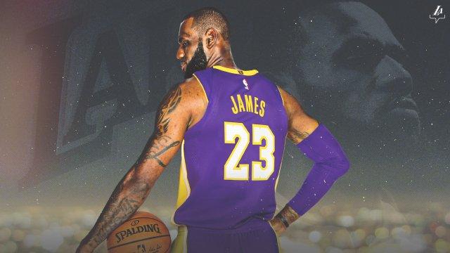 Lebron James Lakers 2018 Wallpaper 2560x1440