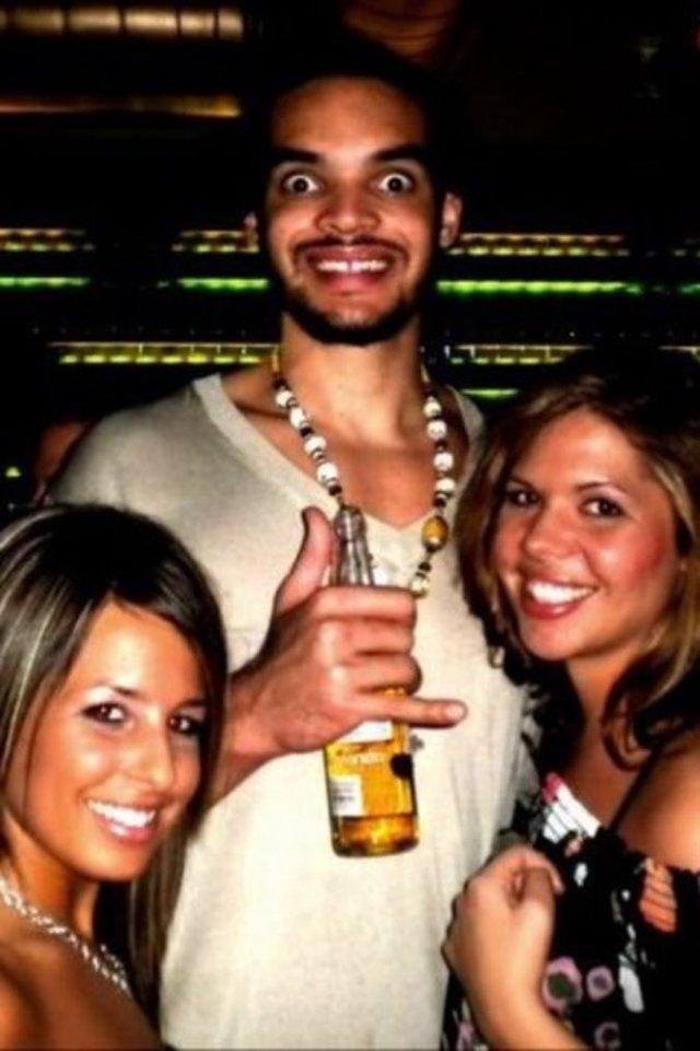 Фотоподборка пьяных игроков НБА