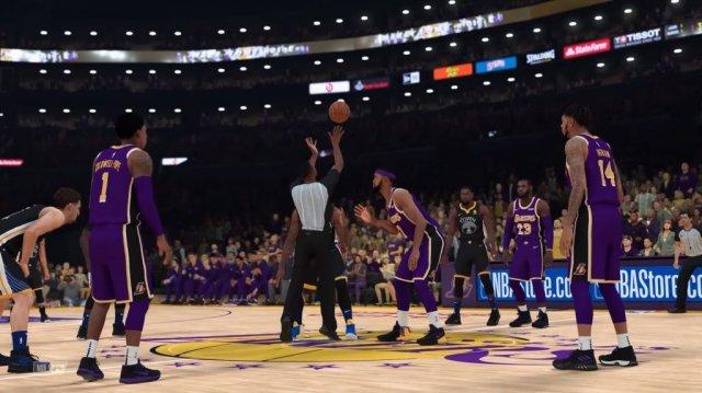 NBA 2K19 - геймплей версии для Switch и сравнение графики игры в портативном и стационарном режимах работы