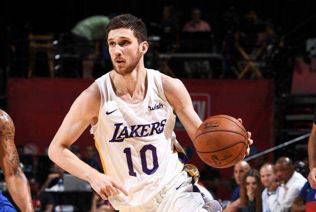 Михайлюк в НБА: что ждет украинца в «Лейкерс» в этом сезоне