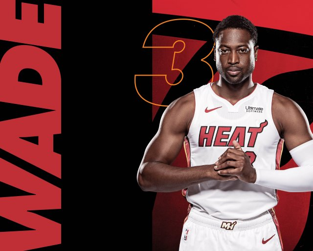 Dwyane Wade Heat 2018 Wallpaper 5333x4267