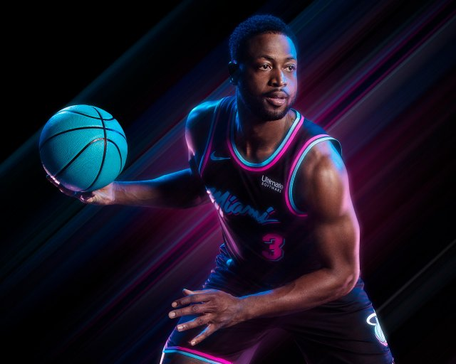 Dwyane Wade Heat 2018 Wallpaper 1280x1024