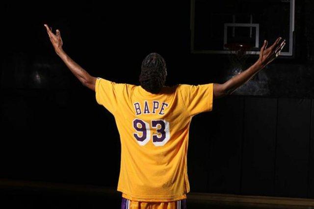 BAPE x Mitchell & Ness x NBA