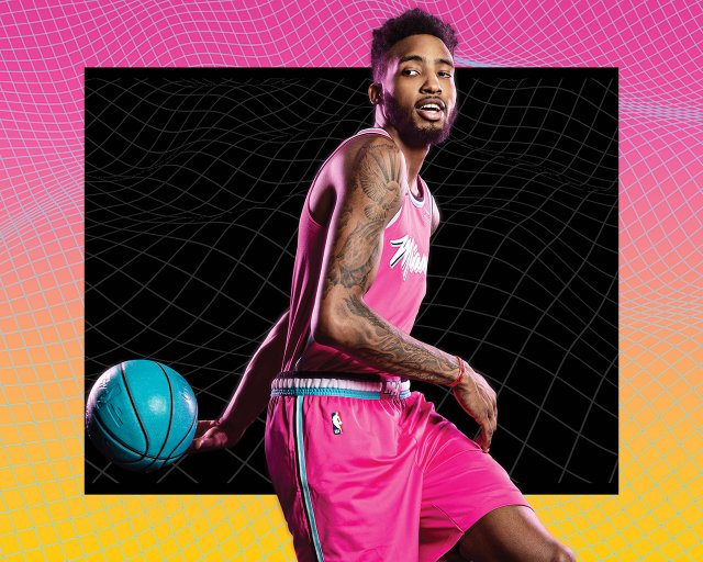Derrick Jones Jr Heat 2018/19 Wallpaper 1280x1024