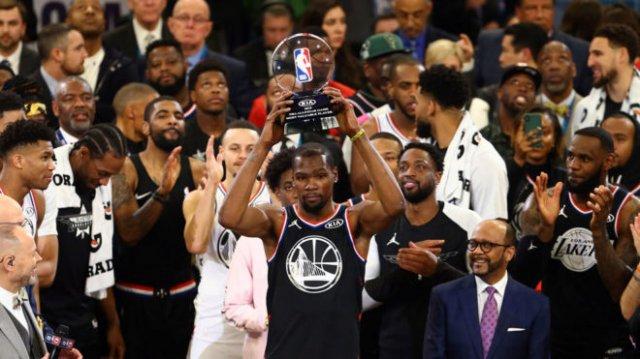 Кевин Дюрэнт – MVP Матча всех звезд НБА