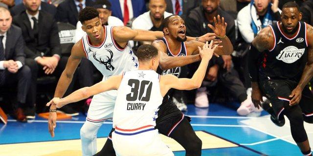 Данк Карри и вечный Джордан. Чем запомнился Матч звезд НБА