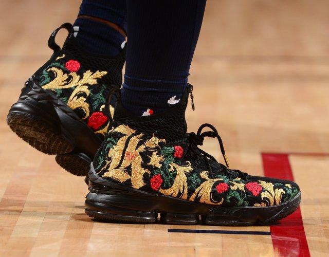 Malik Beasley: KITH x Nike LeBron 15