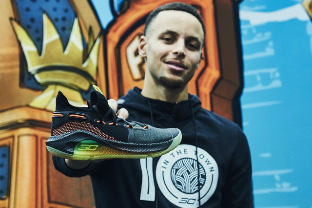 Обзор Under Armour Curry 6
