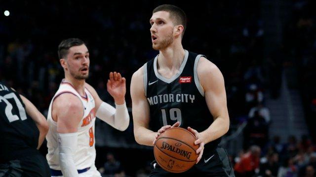 У Михайлюка очень туманные перспективы в «Детройте». Его сезон в НБА фактически закончен