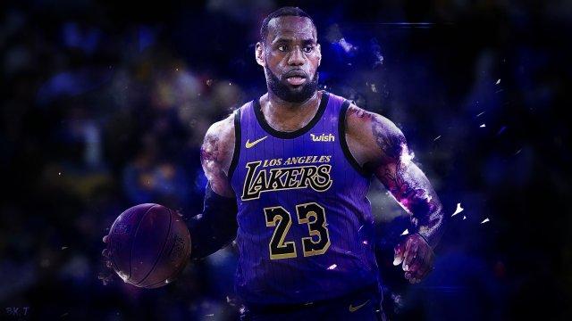 Lebron James Lakers 2019 Wallpaper 1920x1080