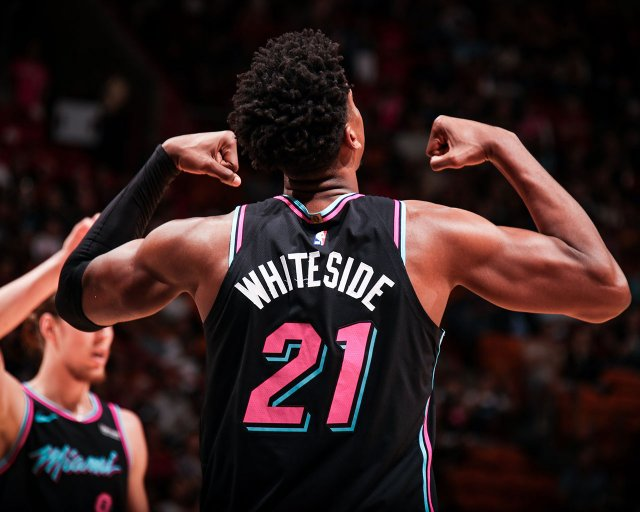 Hassan Whiteside Heat 2019 Wallpaper 1280x1024