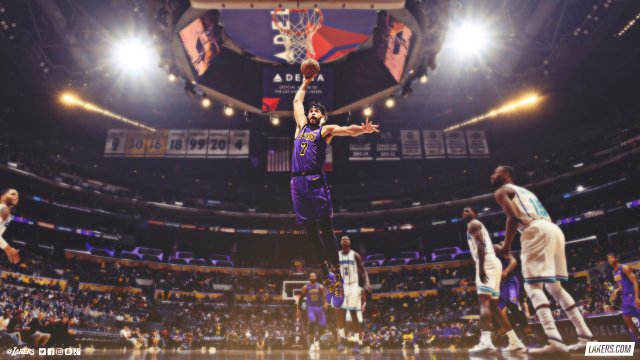 JaVale McGee Lakers 2019 Wallpaper 2560x1440