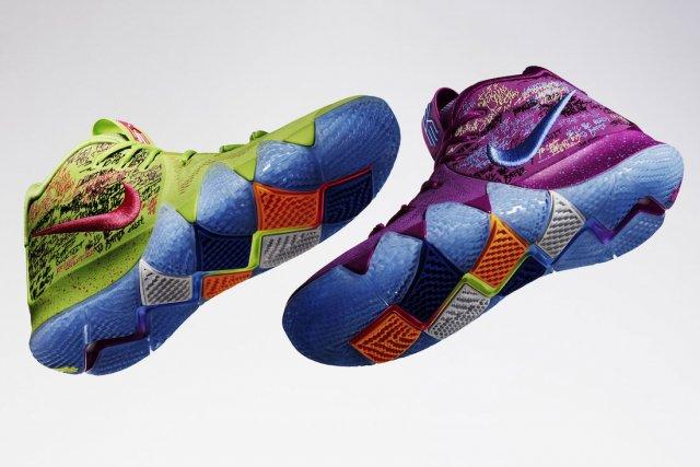 Эволюция кроссовок Кайри Ирвинга