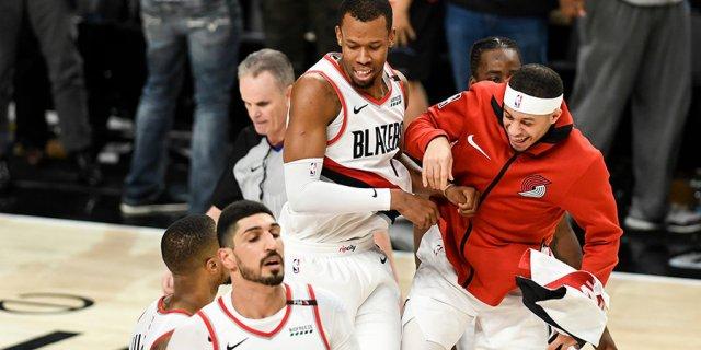 В плей-офф НБА сыграли матч с четырьмя овертаймами. В деле опять Лиллард