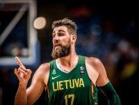 Йонас Валанчюнас: «Игра за сборную Литвы – высшая награда для меня»