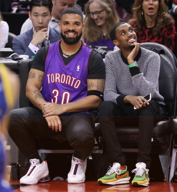 Drake: Nike Shox BB4, Future the Prince: Sacai x Nike LD Waffle