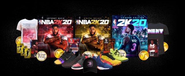 Вышел тизер NBA 2K20. На обложках – Энтони Дэвис и Дуэйн Уэйд