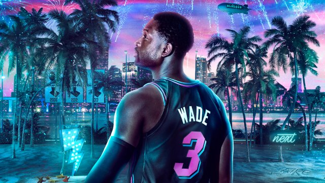 Dwyane Wade NBA2K20 Wallpaper 1920x1080