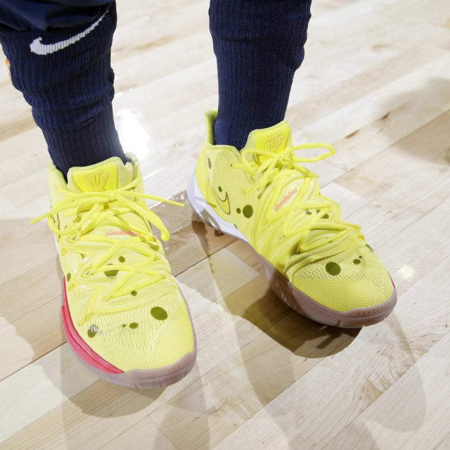 SpongeBob SquarePants x Nike Kyrie Collection