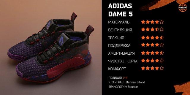 Обзор adidas Dame 5