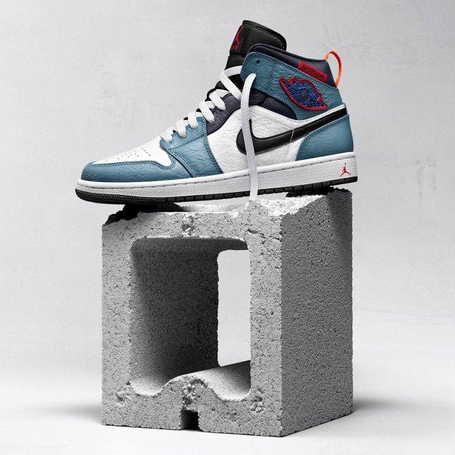 Air Jordan 1 «Fearless Ones»  —  все расцветки новой коллекции