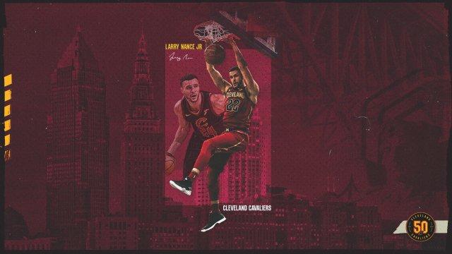 Larry Nance Jr Cavs 2020 Wallpaper 1920x1080