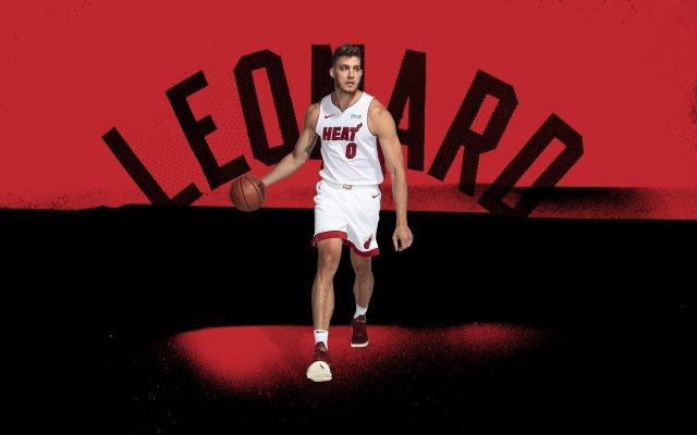 Meyers Leonard Heat 2020 Wallpaper 2880x1800