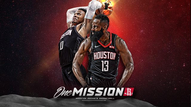 James Harden x Russell Westbrook Houston 2020 Wallpaper 1920x1080